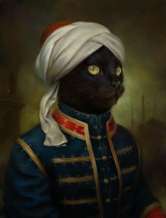 Коты Эрмитажа - шикарные открытки Эльдара Закирова