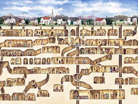 10 удивительных подземных городов
