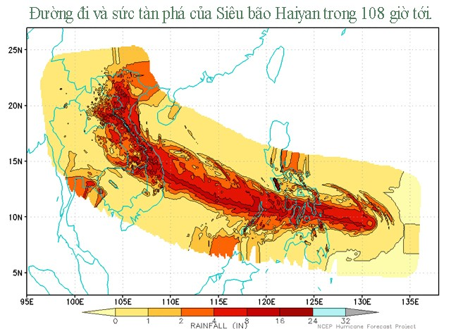 Hình ảnh đáng sợ về siêu bão mạnh nhất hành tinh 6