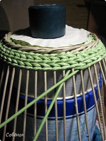 Мастер-класс Плетение МК - Шкатулка из бумаги Бумага газетная Трубочки бумажные фото 62