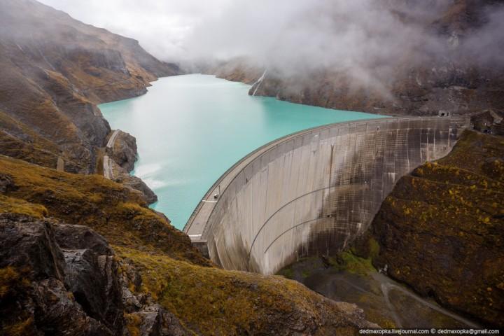 Mauvoisin Dam 1 Дамба Мовуазен