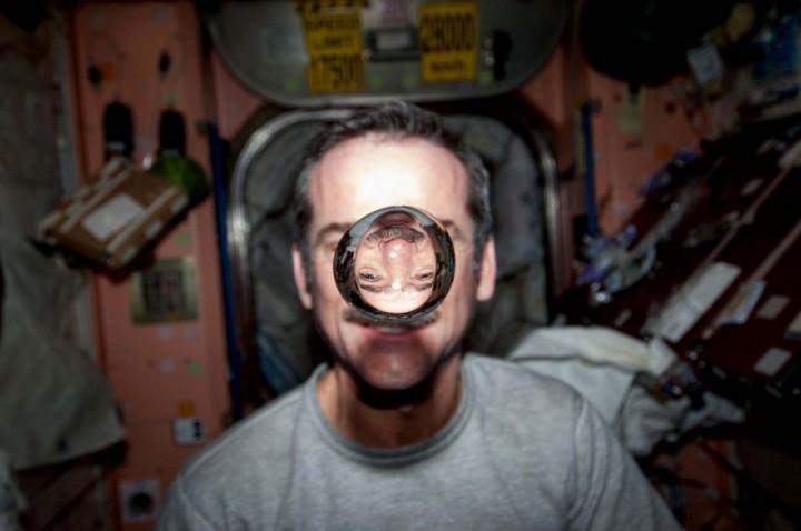KrisXedfild 3 Крис Хэдфилд: потрясающие фотографии из космоса