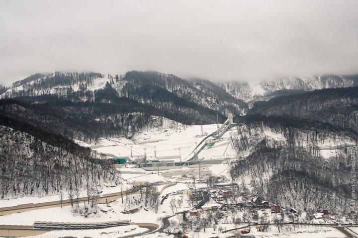 sochi06 Как выглядят Олимпийские объекты с воздуха