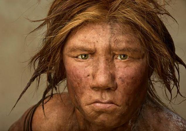 Примерно так выглядел древний неандерталец.