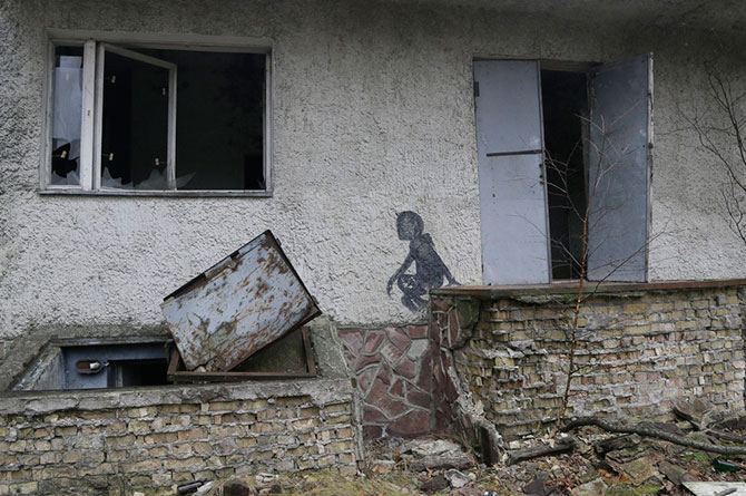 Строительство нового саркофага в Чернобыле