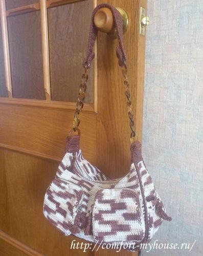 Шьем сумку из меха норки - sammirtesenru