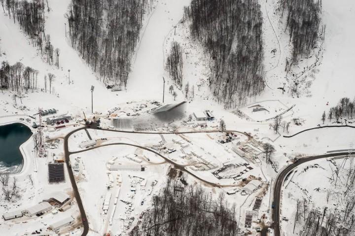 sochi12 Как выглядят Олимпийские объекты с воздуха