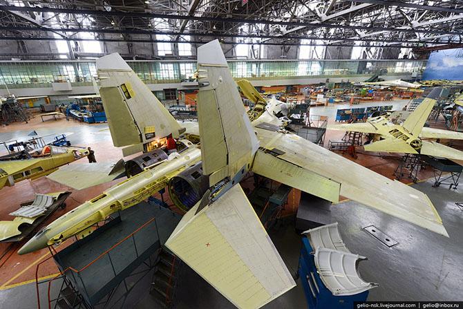 Производство истребителя Су-30 и учебно-боевого самолета Як-130 на Иркутском Авиационном Заводе
