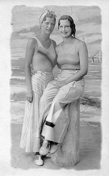 Beachfashion30 Пляжная мода 20 30 х годов XX века