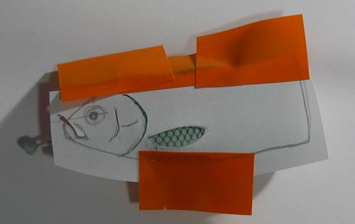 Покраска плавников джерка