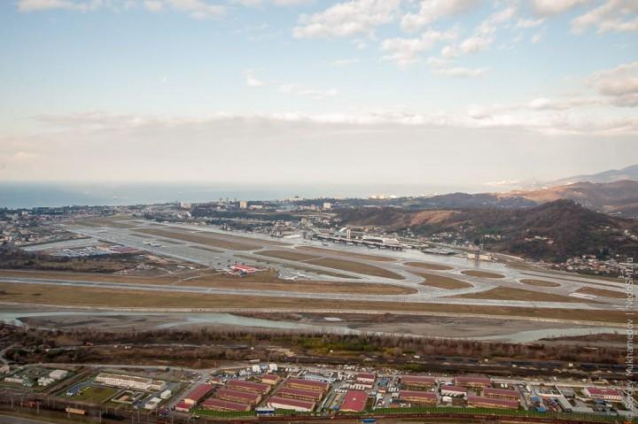sochi22 Как выглядят Олимпийские объекты с воздуха