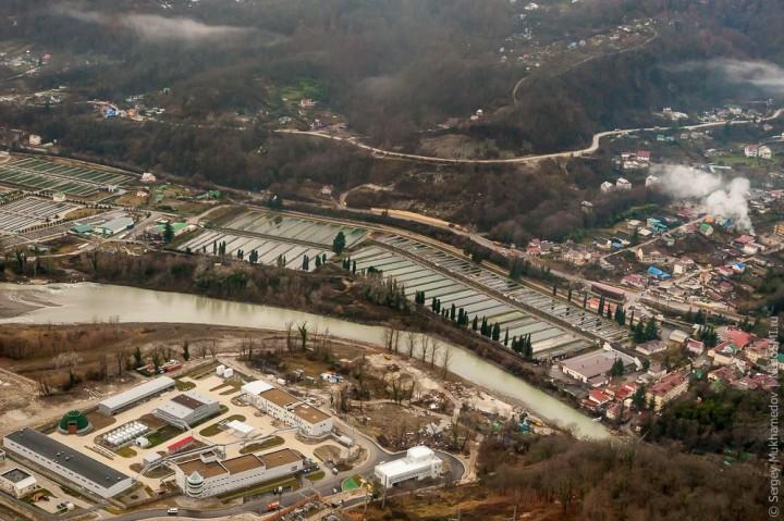 sochi20 Как выглядят Олимпийские объекты с воздуха