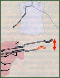 Рис.9. Регулировка усилия срабатывания жерлицы.