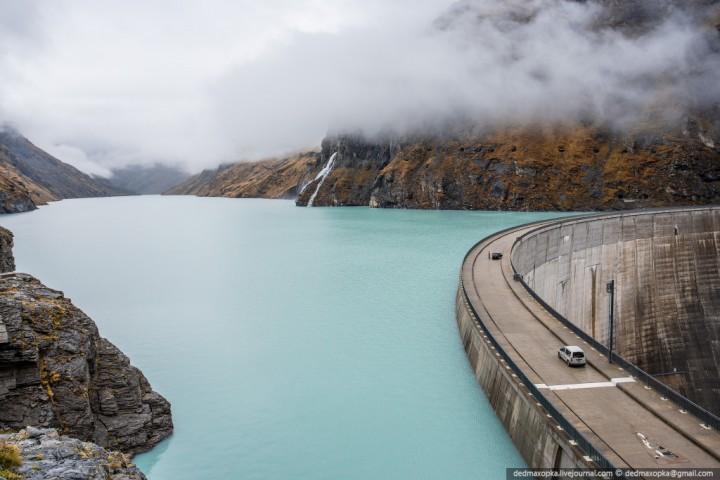 Mauvoisin Dam 5 Дамба Мовуазен