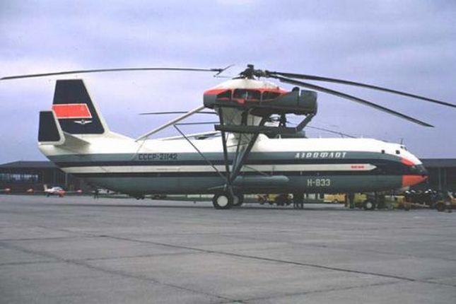 Ми-12: самый большой в мире вертолет-рекордсмен