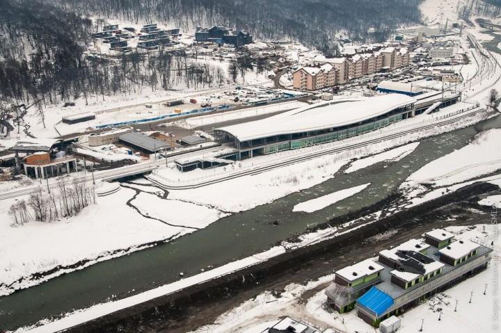 sochi05 Как выглядят Олимпийские объекты с воздуха