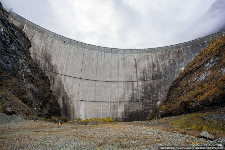 Mauvoisin Dam 7 Дамба Мовуазен