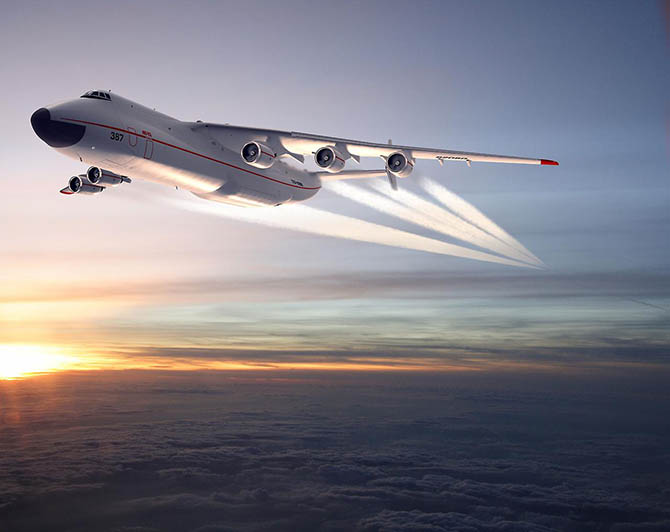 Самый большой самолёт в мире. Ан-225