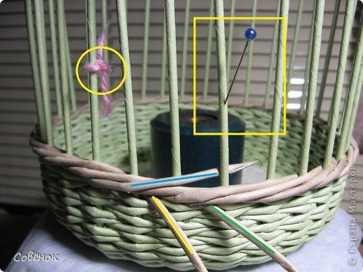 Мастер-класс Плетение МК - Шкатулка из бумаги Бумага газетная Трубочки бумажные фото 35