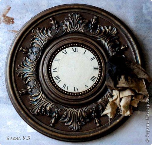 Мастер-класс Поделка изделие Моделирование конструирование Роспись Старинные часы или Антикварная лавка Краска фото 12