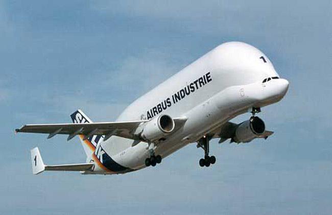 The A300-600ST Beluga - Super Transporter.