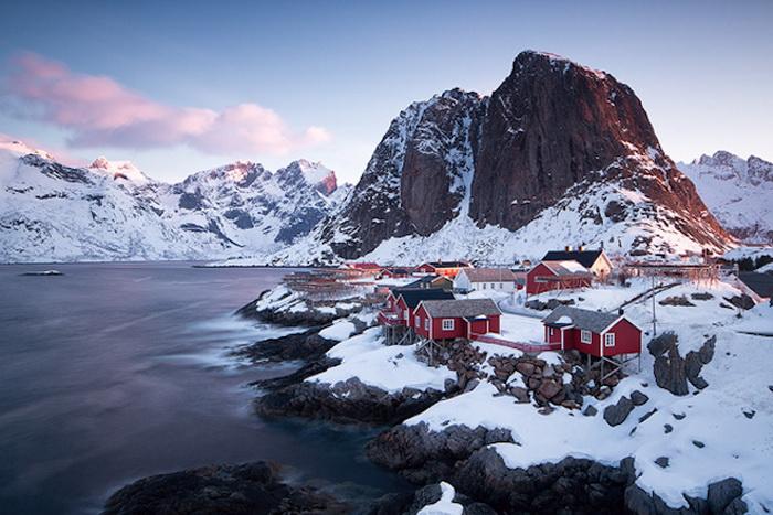 Потрясающие северные пейзажи от немецкого фотографа Jens Fersterra