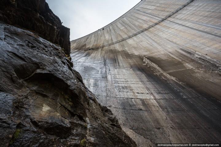 Mauvoisin Dam 8 Дамба Мовуазен