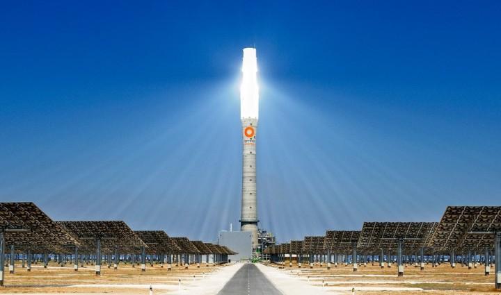 Gemasolar04 Gemasolar   первая в мире круглосуточная гелиоэлектростанция