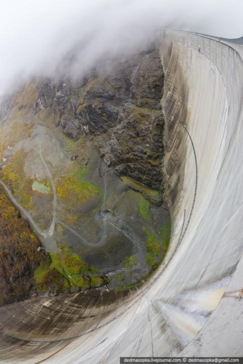 Mauvoisin Dam 28 Дамба Мовуазен