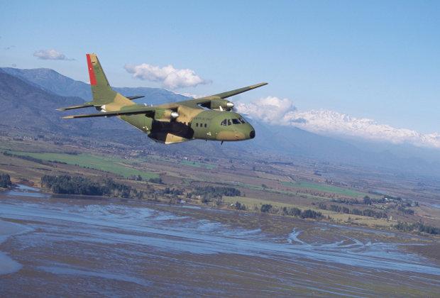 CN235 ВВС Франции