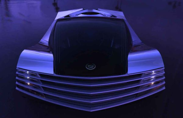 Cadillac WTF - первый автомобиль с ядерным двигателем