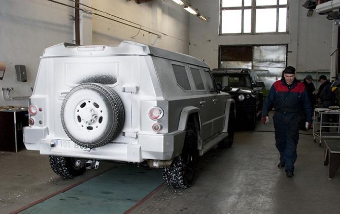 Как делают бронированные автомобили