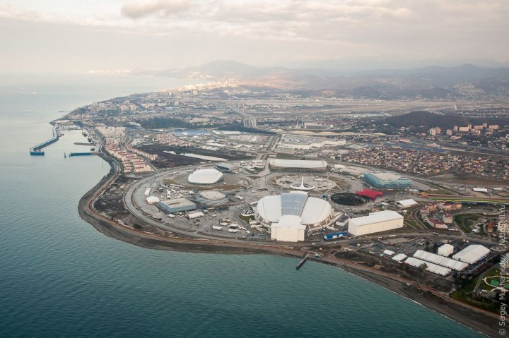 sochi47 Как выглядят Олимпийские объекты с воздуха
