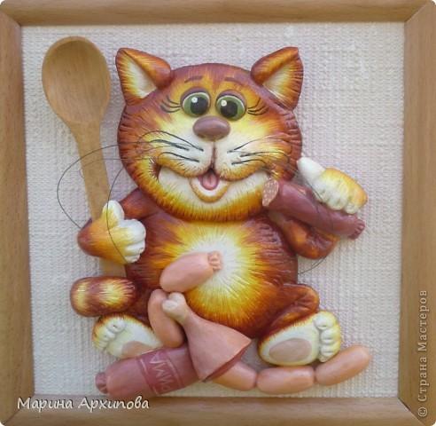 для коты из соленого теста картинки тесто иголку воткнуть лацкан