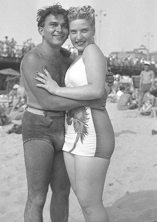 Beachfashion11 Пляжная мода 20 30 х годов XX века