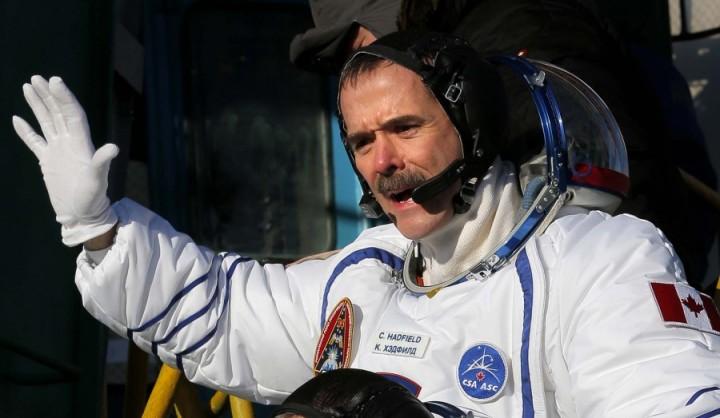 KrisXedfild 1 Крис Хэдфилд: потрясающие фотографии из космоса