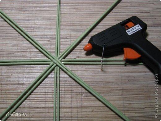 Мастер-класс Плетение МК - Шкатулка из бумаги Бумага газетная Трубочки бумажные фото 4
