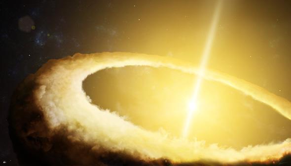 огромный квазар