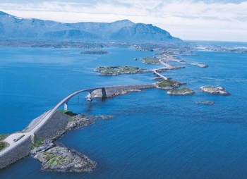 Атлантик-Роуд - одно из чудес Норвегии