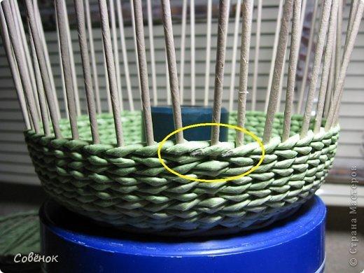 Мастер-класс Плетение МК - Шкатулка из бумаги Бумага газетная Трубочки бумажные фото 65