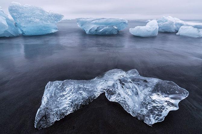 Айсберги у Шпицбергена