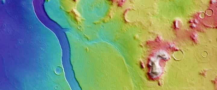 Реки на Марсе
