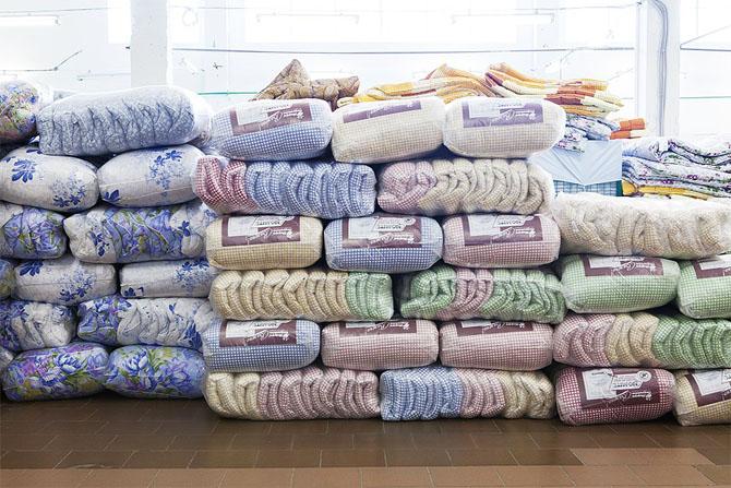 Как делают подушки