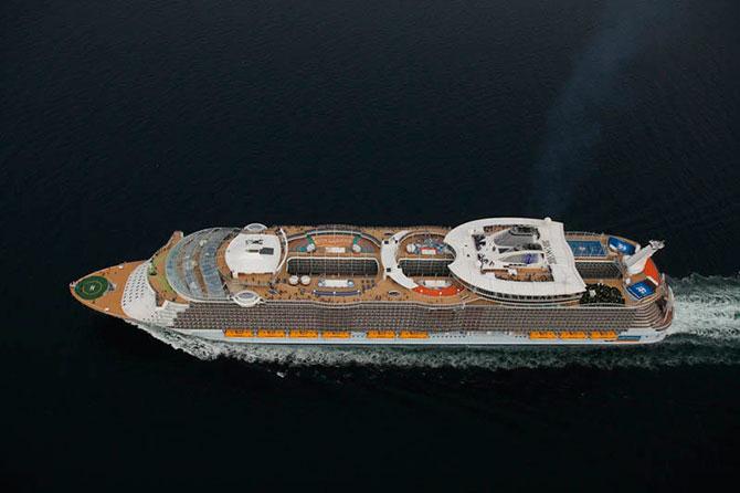 Самый большой круизный лайнер