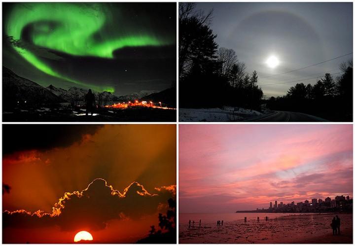 BIGPIC46 Вид на небо в разных точках планеты