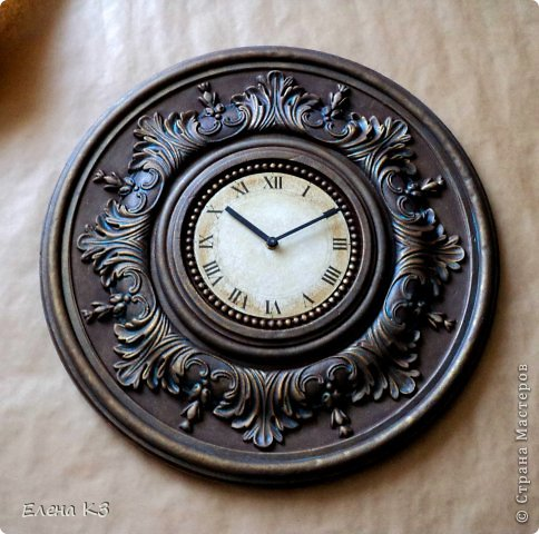 Мастер-класс Поделка изделие Моделирование конструирование Роспись Старинные часы или Антикварная лавка Краска фото 17