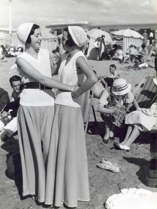 Beachfashion28 Пляжная мода 20 30 х годов XX века