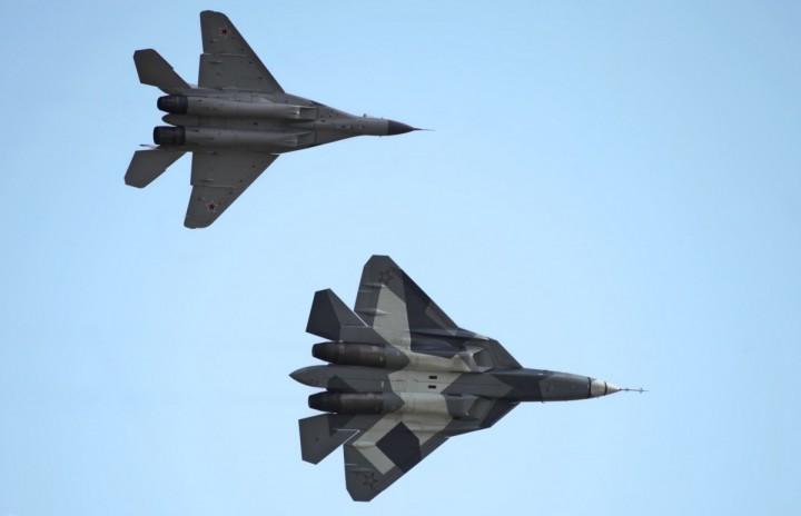 МИГ-29 и Т-50