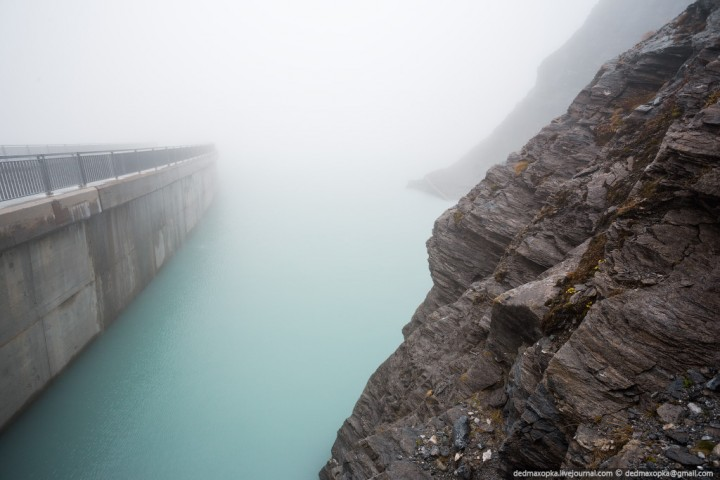 Mauvoisin Dam 26 Дамба Мовуазен