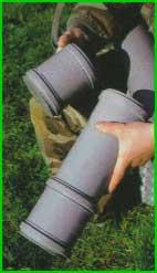 Поставив более длинную сменную крышку, можно увеличить общую длину